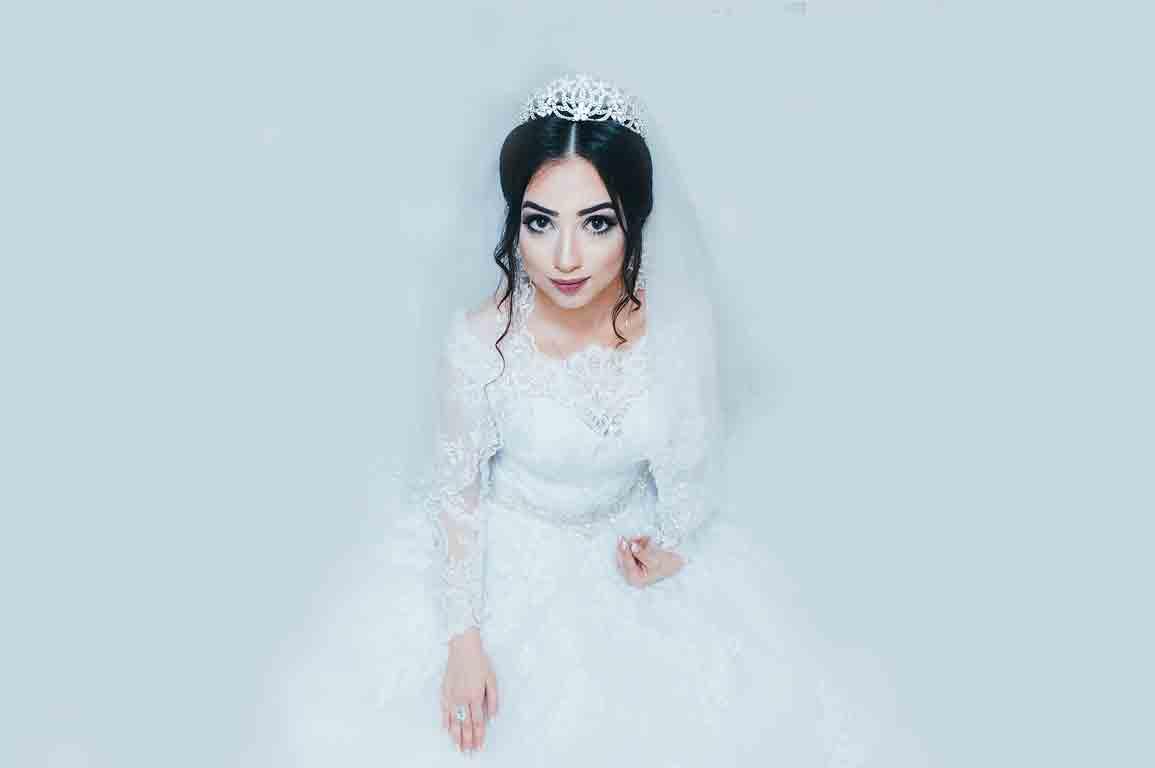 Tradiational Asian Bride Makeup